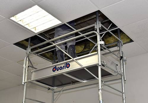 WORKING SAFELY IN SUSPENDED CEILINGS