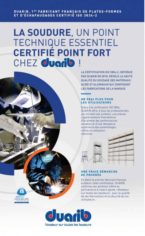 certification iso 3834-2 the reference standard for fusion welding of metals
