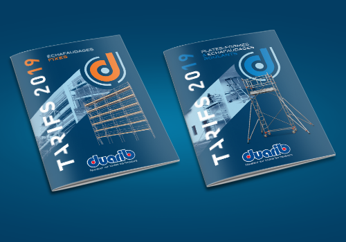 2019 editions of our catalogues/price-lists for platforms and scaffolding